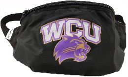Image For Fanny Pack (Black, WCU/Cat, Cowbucker)