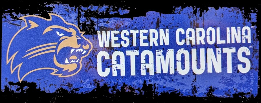 Cover Image For Decal --- Cat / Western Carolina Catamounts Faded