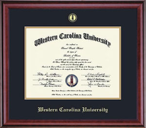 Image For <b>Classic Gold Embossed Diploma Frame</b>