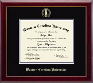 Image For Gallery Gold Embossed Diploma Frame