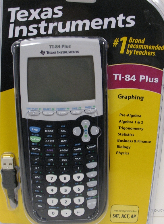 Image For Texas Instruments TI-84 Plus Graphing Calculator