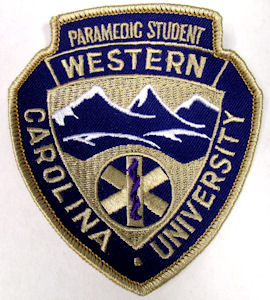 Image For WCU Paramedic Patch